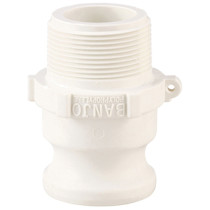 "Banjo 3/4"" Male Adapter- 3/4"" Male Thread FDA (075FFD)"