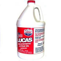 Lucas Oil Semi-Synthetic 2-Cycle Engine Oil;16 oz