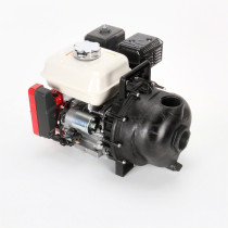 "Banjo 2"" Electric Start Transfer Pump; 5.5 HP Honda Engine"