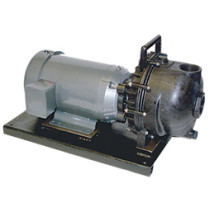 """Banjo 2"""" Poly Pump w/ 5.0 HP Three Phase Electric Motor w/ EPDM Elastomers (234PPE5)"""