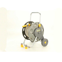 Hozelock 148 ft Assembled Hose Cart with 65 ft Hose
