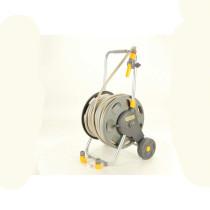 Hozelock 197 ft Assembled Hose Cart with 164 ft Hose