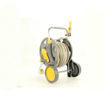 Hozelock 197 ft Assembled Hose Cart with 98 ft Hose