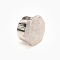 Valley Industries Stainless Steel Hex Plug: 1 1/2""