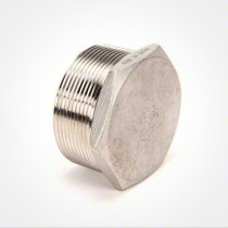 Valley Industries Stainless Steel Hex Plug: 2""