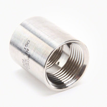 "Valley Industries Stainless Steel Coupling: 1"" x 1"""