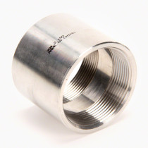 "Valley Industries Stainless Steel Coupling: 2"" x 2"""