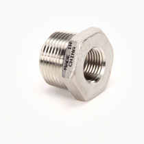 "Valley Industries Stainless Steel Reducer Bushing: 1"" x 1 1/2"""