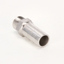 "Valley Industries Stainless Steel Hose Barb Fitting: 3/4"" x 1"""