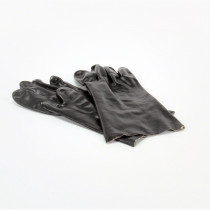 Black PVC Safety Gloves
