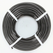 "Hudson Extrusions 1/4""IDX3/8""ODX1/16"" WALL BLACK LLDPE TUBING"