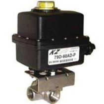 "KZ Valve 1 1/2"" 3-Way Valve w/ EH2 Actuator"