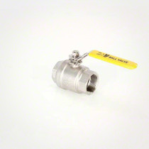 Valley Industries 88 Series Stainless Steel Ball Valve: 1 1/2""