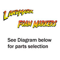 Landmark Foam Marker Replacement Part; FM100B