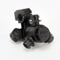 TeeJet QJ360E Nozzle Body Series for Wet Booms: 3 Outlets, 20 mm Tubing