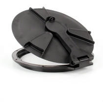 """Hypro 16"""" Hinged Lid w/Labyrinth Breather"""
