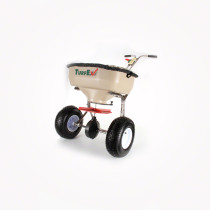 TurfEx 75lb SS HD Push Type Broadcast Spreader