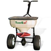 TurfEx 80lb HD Push Type Broadcast Spreader