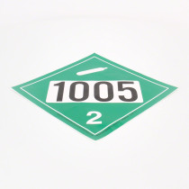 Green 1005 Anhydrous Ammonia Diamond Decal