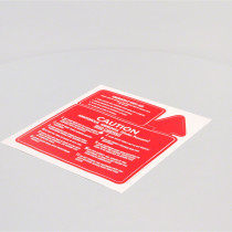 Caution & First Aid Decal