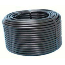 "1/2"" Black Linear Low Density Polyethylene Tubing"