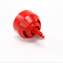 Hypro GuardianAIR 110° Flat Fan Spray Tip: Red