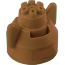 Hypro Ceramic Six Stream Fertilizer Spray Tip - Brown - (FC-ESI-11005)