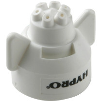 Hypro Ceramic Six Stream Fertilizer Spray Tip - White - (FC-ESI-11008)