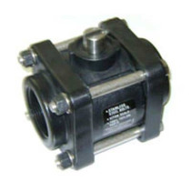 "KZ 1 1/2"" Standard Port Stainless Steel Ball Valve"