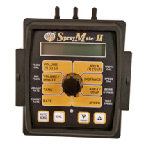 """Micro-Trak SprayMate II Automatic Rate Controller, 3/4"""" Poly Flowmeter, 0.5 - 12 GPM, 20' Cable Harness & 12V Pump Driver 40 Amp (01196)"""
