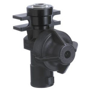 "TeeJet Push to Connect QJ Body, 3/8"", 10 PsI check valve"