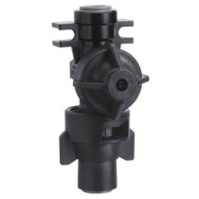 "TeeJet Push to Connect QJ Body & Cap, 1/4"", 10 PsI check valve"