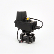"TeeJet 344 Series Electric Shutoff 2-Way Valve, 1"" Thread, EC Motor"