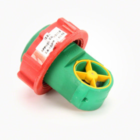 """Teejet 1 1/2"""" 9-90 GPM Rapid Check Flow Meter, insert only"""
