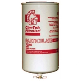 "Cim-Tek 200E-10 10 Micron 3/4"" Flow Spin On Filter w/ Draincock (70002)"