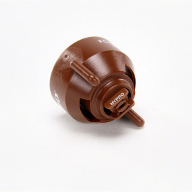 Hypro Brown Fast Cap Ultra Lo-Drift Flat Fan Spray Tip