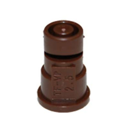 TeeJet FloodJet Wide Angle Flat Spray Tips: Brown - Polymer