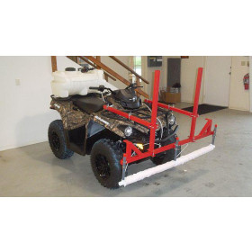 Smucker Weed Wiper ATV Mount Top Crop Kit