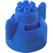 Hypro Ceramic Six Stream Fertilizer Spray Tip - Blue - (FC-ESI-11003)