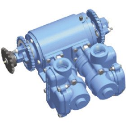 CDS-John Blue Pump - 31.2 Double PST (NGP-5655-ARF)