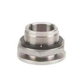 "Banjo 2"" Stainless Steel Full Port Bulkhead Tank Fitting (TF220SS)"