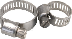"""Merrill #8 Stainless Hose Clamp; 7/16""""- 25/32"""" (M67087)"""