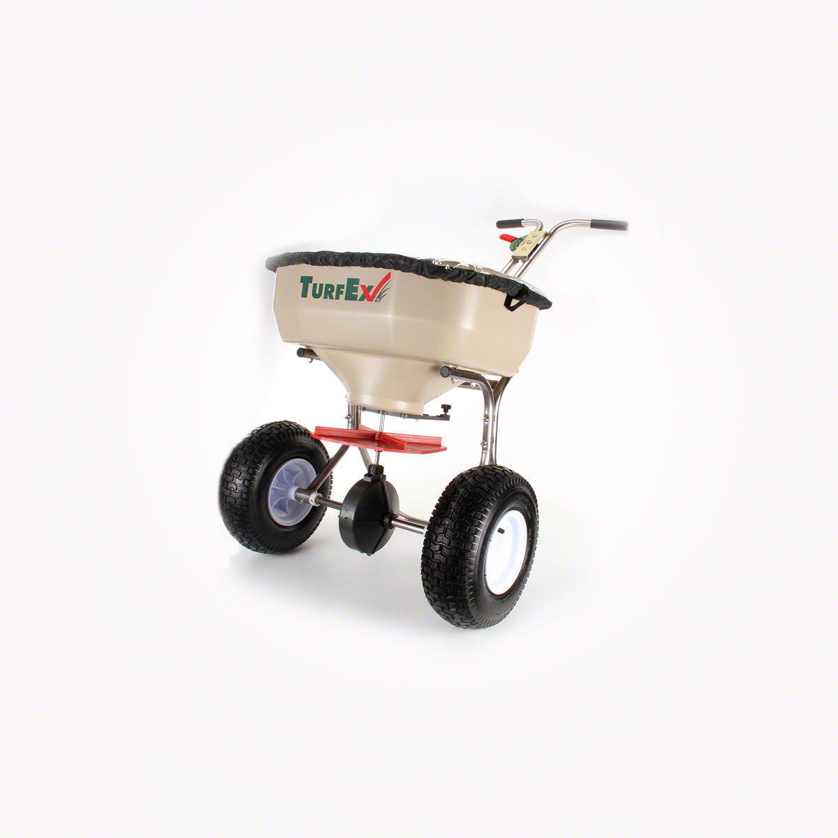 Push Broadcast Spreader : Buy turfex lb ss hd push type broadcast spreader