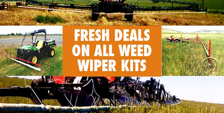 Fresh Deals on Smucker Weed Wipers